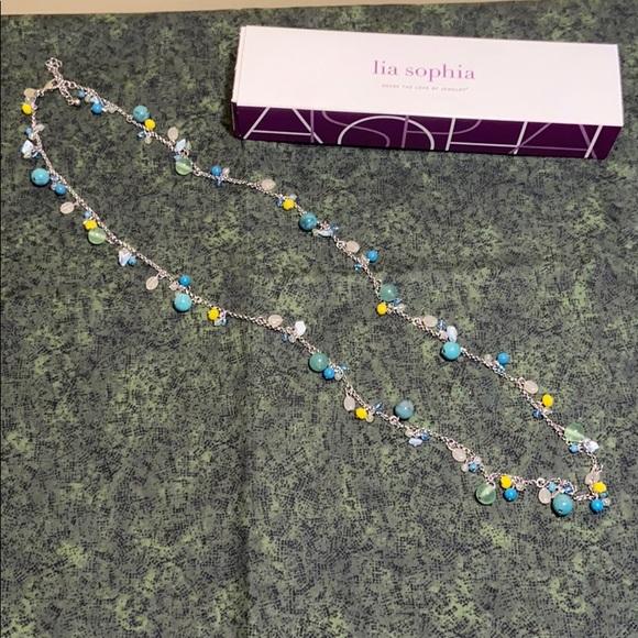 Lia Sophia beach house necklace